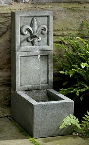 Fleur de Lis Element Fountain
