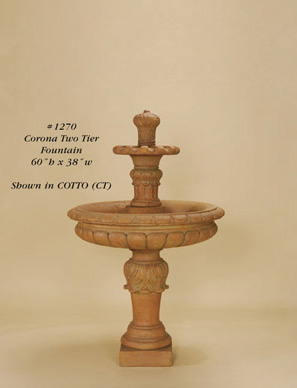 Corona Two Tier Fountain