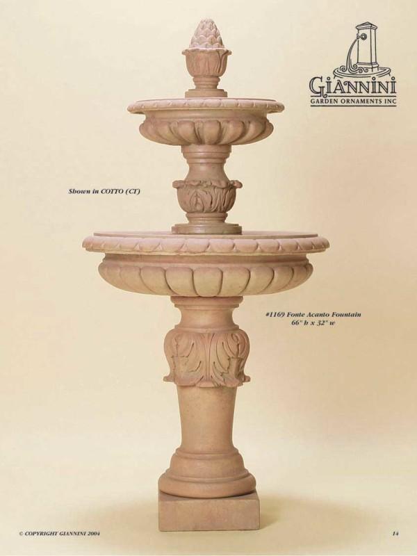 Fonte Acanto Fountain