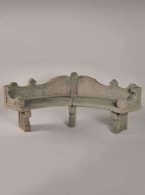 Venetian Curved Bench