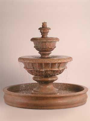 "Roma Fountain with 70"" Basin"