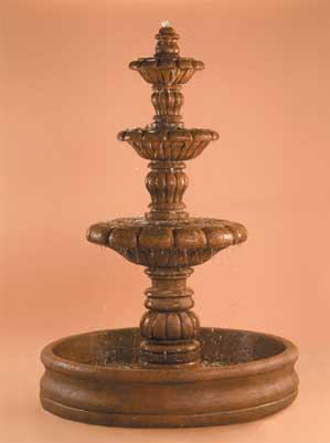 """España Fountain with 55"""" Basin"""