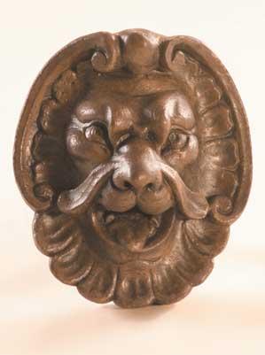 Ornate Lion Head