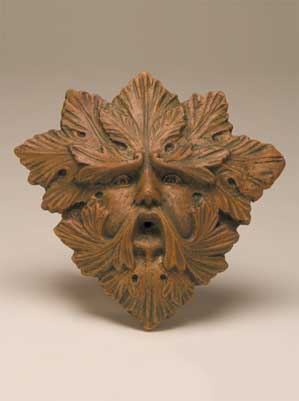 Green Man Wall Relief