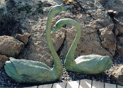 Swans (Pair)