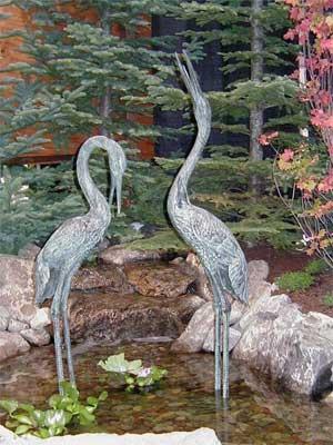 Medium/Large Cranes - Pair
