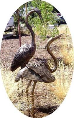 Medium/Large Herons (Pair)