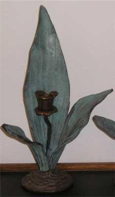 Leaf Candle Holder