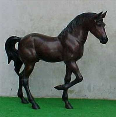 Large Prancing Horse