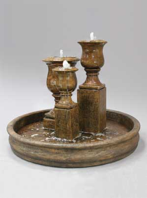Elegant Urn Trio Fountain