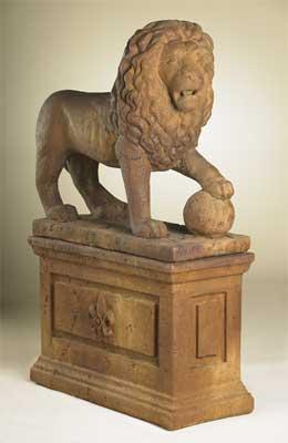 Lion Statue A