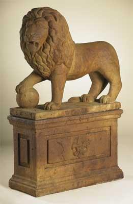 Lion Statue C