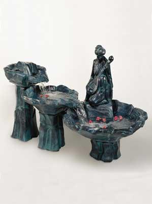 Sitar Fountain