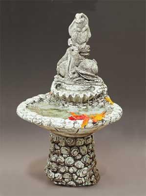 Bunny Fountain