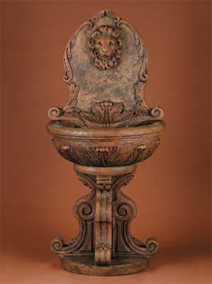 Classic Lion Wall Fountain
