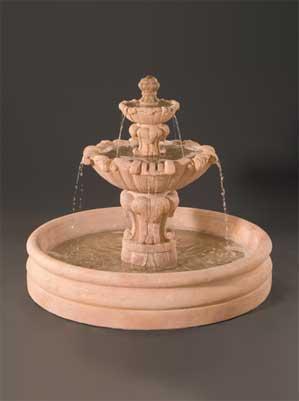 """Vesuvio Fountain with 46"""" Basin"""