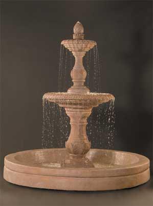 """Four Seasons Fountain with 98"""" AWC Basin"""