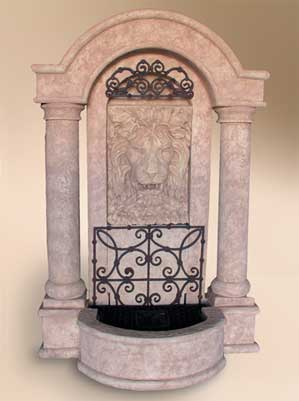 Grand Lion Wall Fountain