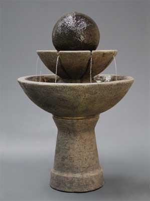 Zen Fountain Tall, 2-Tier