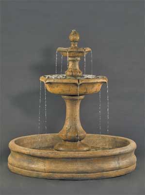 """Verona Fountain with 55"""" Basin"""