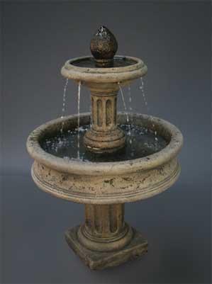 Column Base Fountain