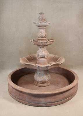 Saratoga Pool Fountain