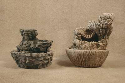 Assorted Cascade Fountains