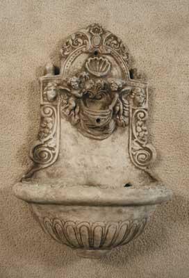 Small Cherub Wall Fountain
