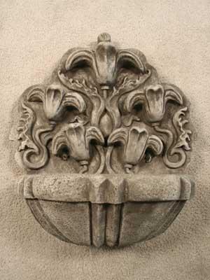 Floral Wall Fountain