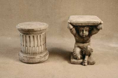 Pedestal, Pan Seat