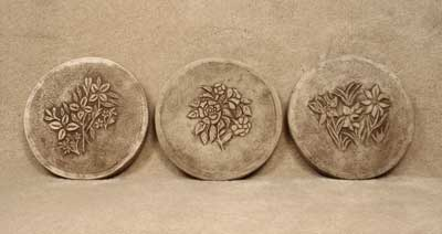 Floral Step Stones (3 patterns)