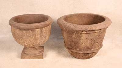 Atherton Urn and Rustic Pot