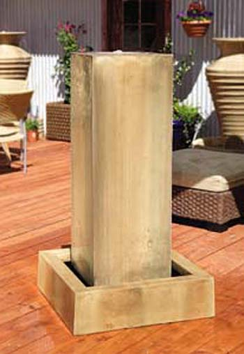 Monolith Fountain